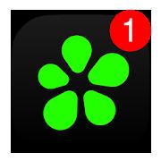ICQのアプリアイコン