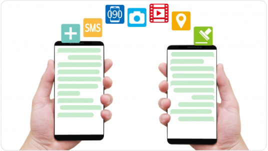チャットをはじめとするコミュニケーションツールのイメージ画像